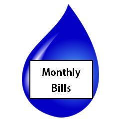 Monthly Bills Opens in new window